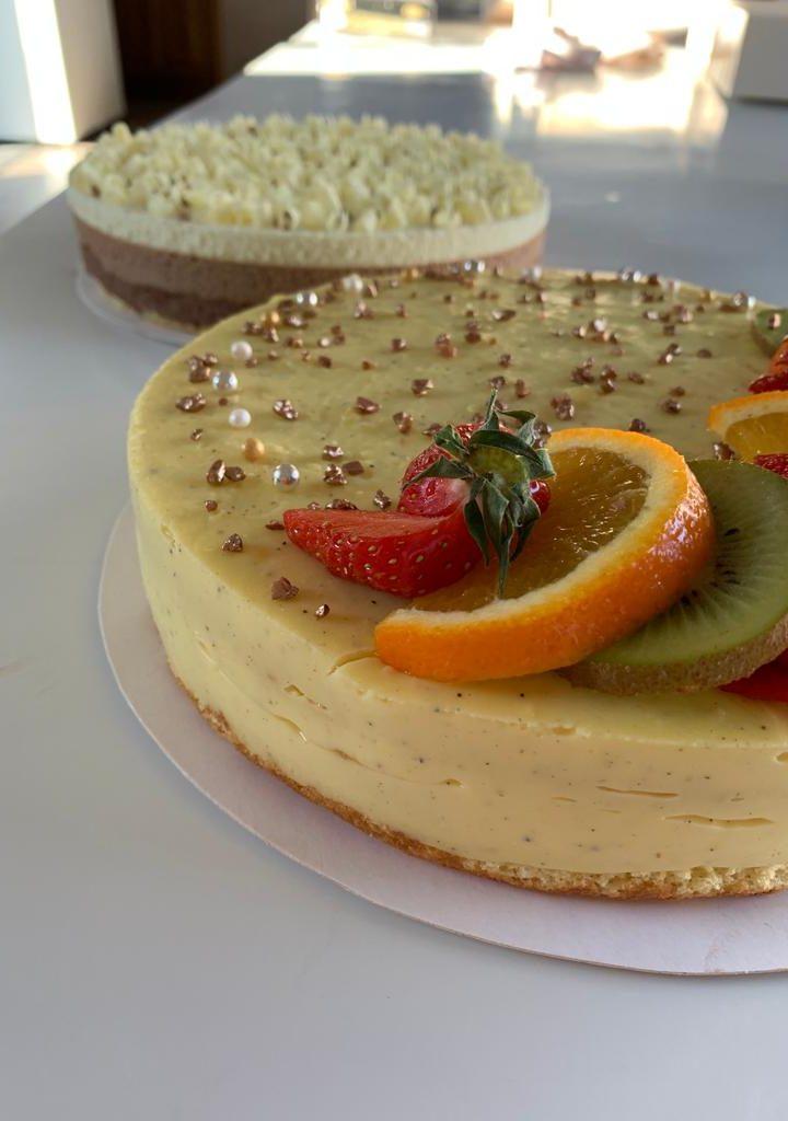 Gâteau multi-fruits